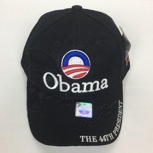 BARACK OBAMA HAT THE 44TH PRESIDENT ADJUSTABLE CAP